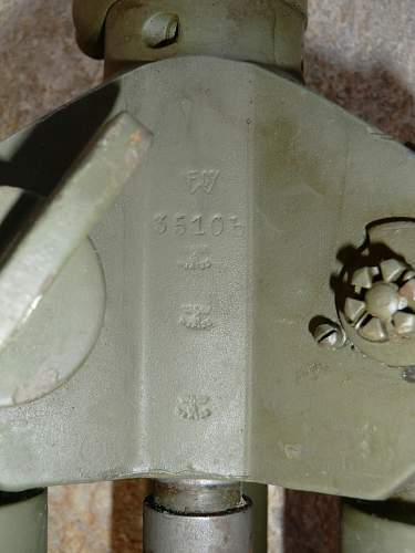 Driefuss MG anti aircraft tripod