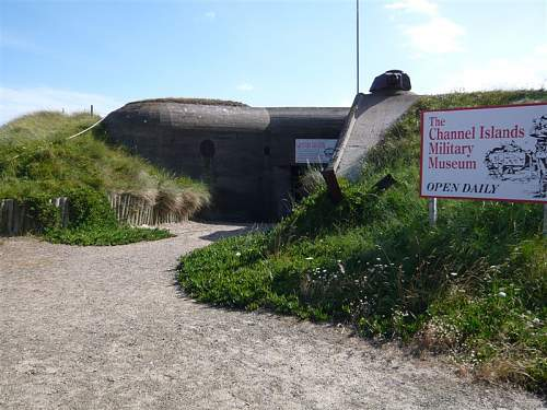 The Channel Islands Military Museum, Jersey, Channel Islands.