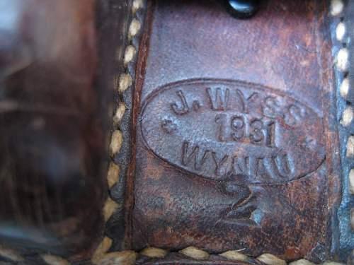 Military or civilian? 1931 rucksack