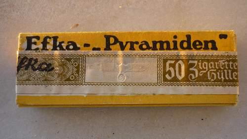 Werhmacht EFKA-Feinstes Zigaretten -Papier