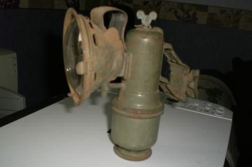 Carbide Bike Lamp