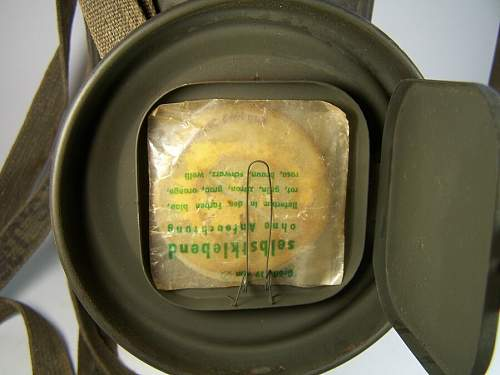 "Think I will buy this  Gas Mask ""1937"" - acceptable match for for a M36 Feldbluse?"