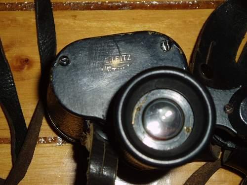 My german binoculars.