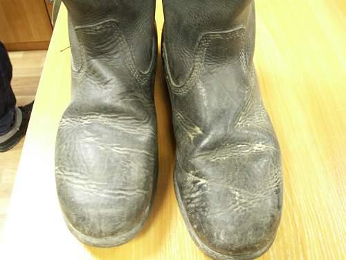 Wehrmacht boots