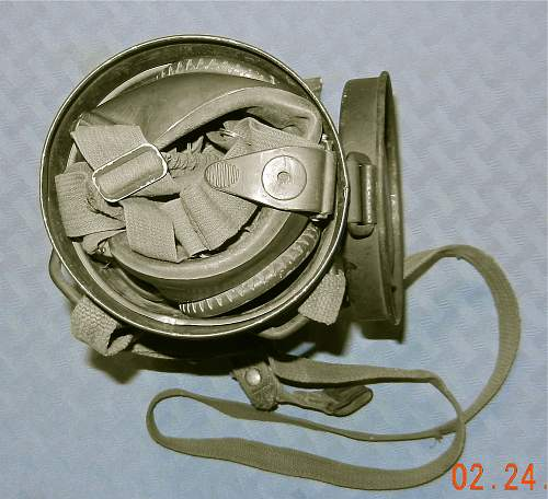 My first gas mask/canister