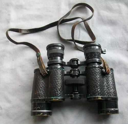 Unkown WWII German Binoculars