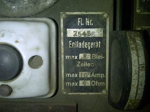 German radio set?