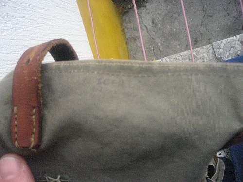 Strange bag-rucksack. Waffen SS? Please need opinion