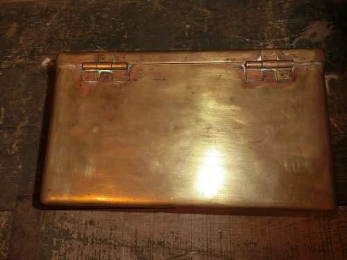 Kriegsmarine Spare Parts Box