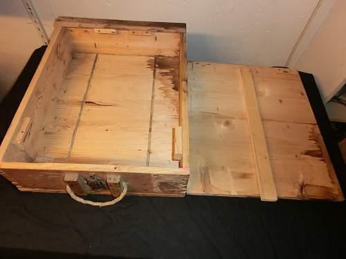 Stielhandgranate case