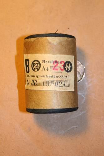 SS Black Thread Spool