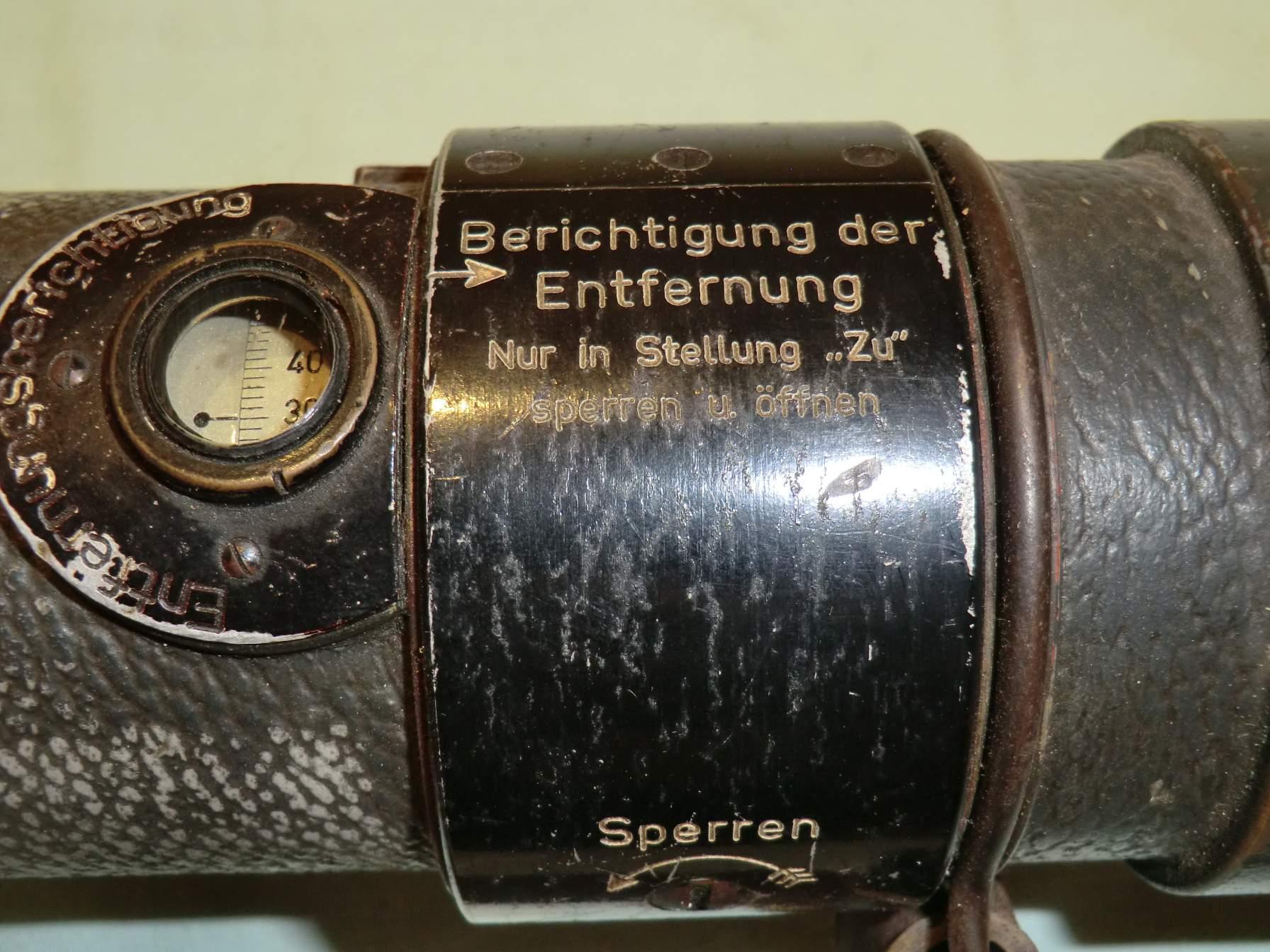 Entfernungsmesser Em 34 : Em34 rangefinder entfernungsmesser used with the mg.34