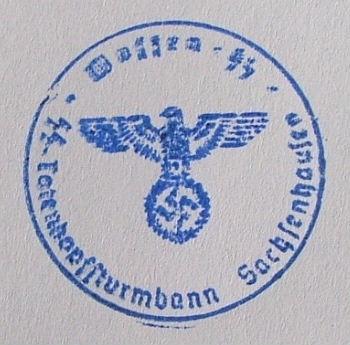Waffen SS stamper