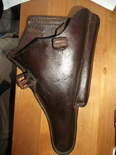 Modified Luger Holster
