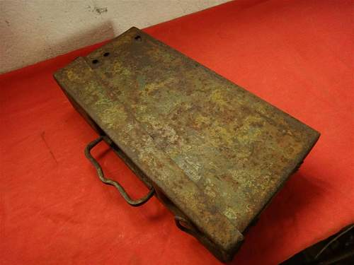 MG42 Ammo Box camo