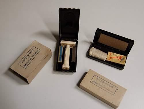 Wehrmacht bakelite items
