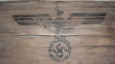 on Nazi marked Wooden Crate lids