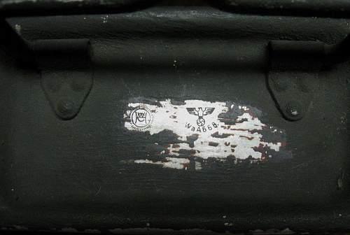 MG34/42 Ammo Box