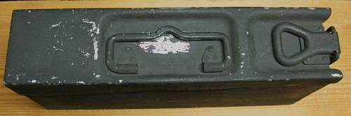 MG34/42 Ammo Box