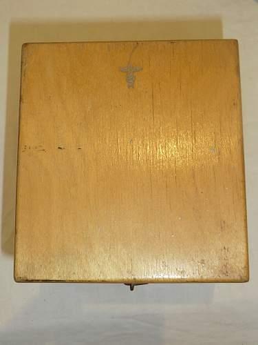 Kriegsmarine T.V.A. E4 by Hoffmann in its box