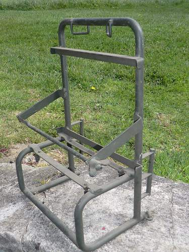 Another equipment carrying frame