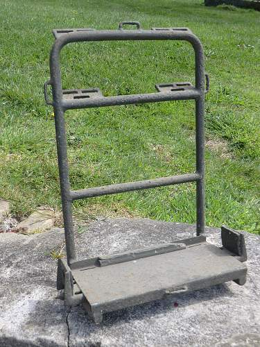 Backpack carrying frame