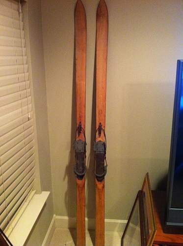 WW2 era German skis