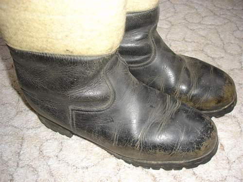 WWII german winter boots?