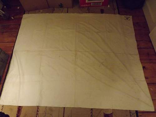 Kriegsmarine Bed Sheet