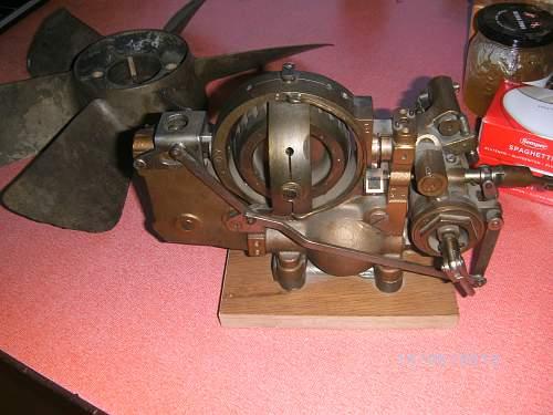 German torpedo parts