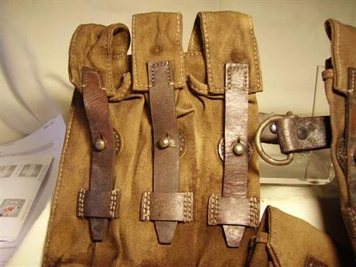MP40 pouches... real deal or fakes?