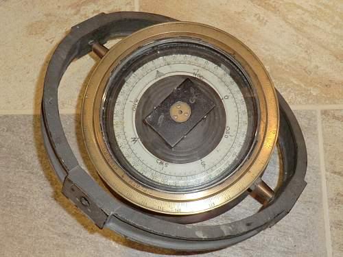 Kriegsmarine compass.