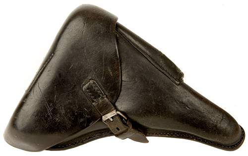WWII Luger Holster Dated 1941