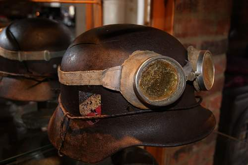 German WW2 era ski cold weather special forces goggles ??????