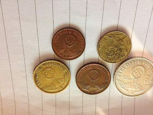 nazi coin's