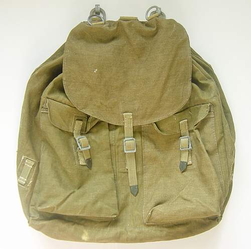 Help wanted on WH/LW Rucksack