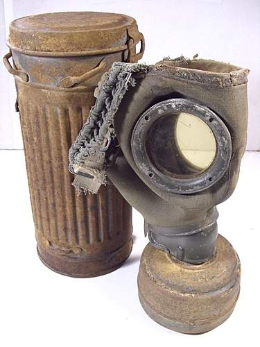 My first gas can mask set