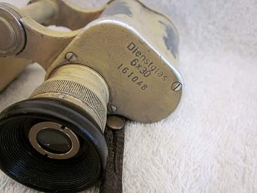 CAG Ordnance Tan Binoculars