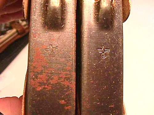 Regarding Mauser ammunitions and magazine clips.