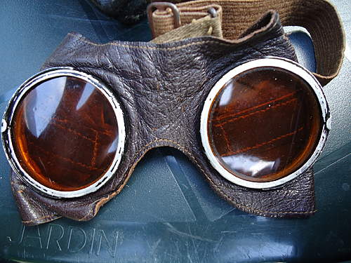 Motorcycle or Panzer Goggles?