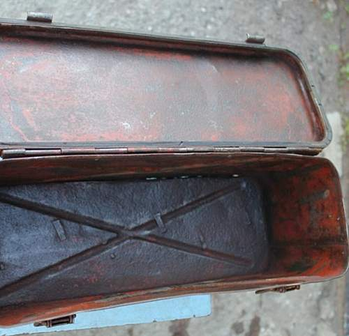 Nice ordnance tan box 1943