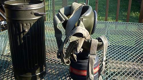 WW2 German Combat Gas Mask