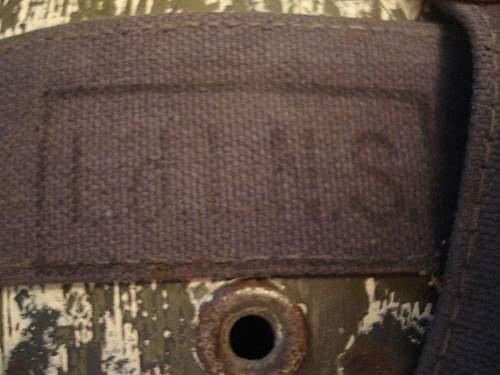 Luft bread bag strap markings help needed