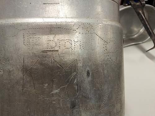 M31 mess tin - Kriegsmarine?????