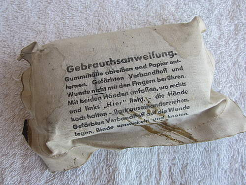 German Field Dressings