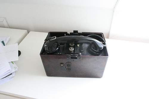 German Field Phone 1940 - value?