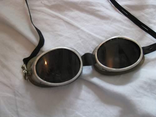 German goggles?