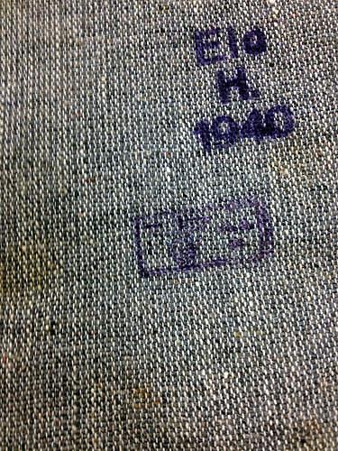 Strange German Marked Bag