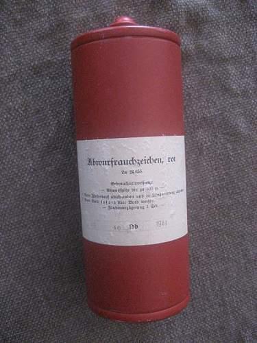 Luftwaffe smoke signal