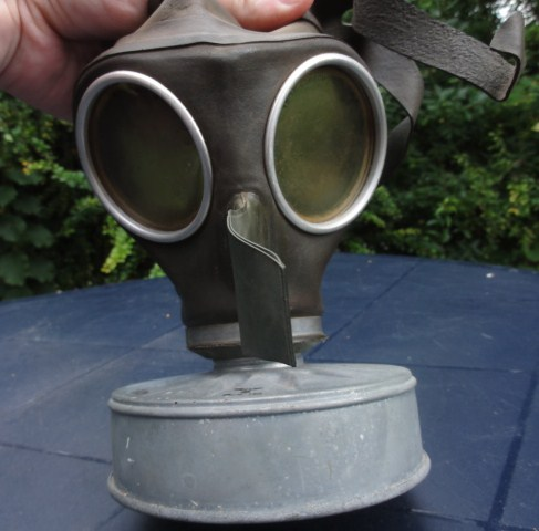 German civilian gas mask?